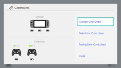 Fake Pro Controller paired to Switch 5.1.0