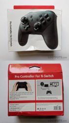 Packaging for fake Switch Pro Controller