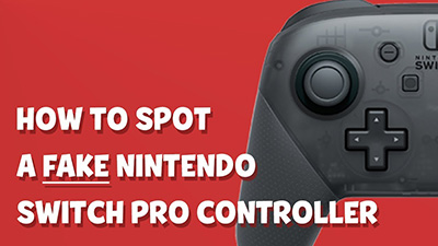 How to Spot a Fake Switch Pro Controller (Comparison) Video