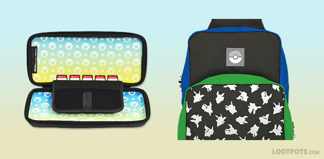 Pokemon Switch Case and Bag