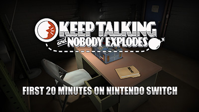Keep Talking and Nobody Explodes Switch Co-op Gameplay Video
