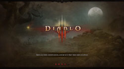 Diablo III Nintendo Switch Loading Screen