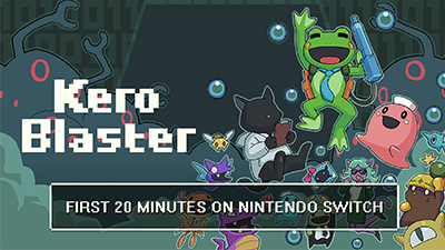 Kero Blaster Switch Gameplay - First 20 Minutes (Docked) Video