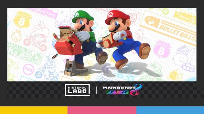 Nintendo Labo + Mario Kart