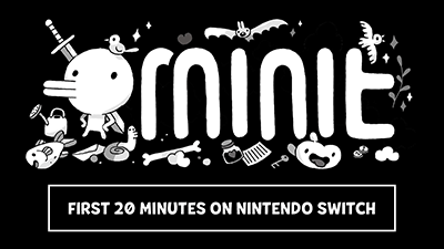 Minit Nintendo Switch Gameplay - First 20 Minutes (Docked) Video