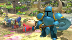 Shovel Knight Assist Trophy Smash Bros Ultimate