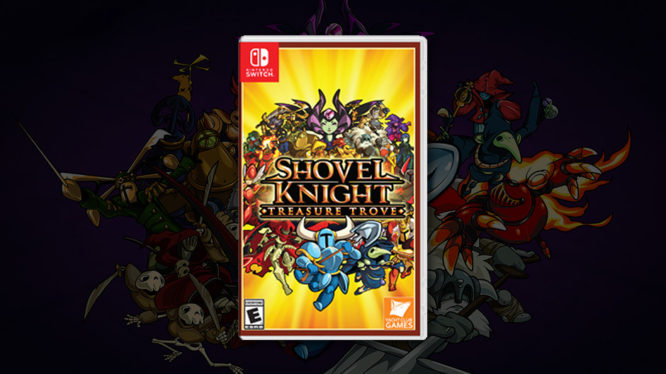 Shovel Knight Physical Nintendo Switch