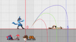 Training Mode Trajectory in Smash Bros Ultimate