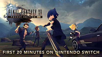 Final Fantasy XV Pocket Ed HD Switch Gameplay - First 20 Minutes (Docked) Video