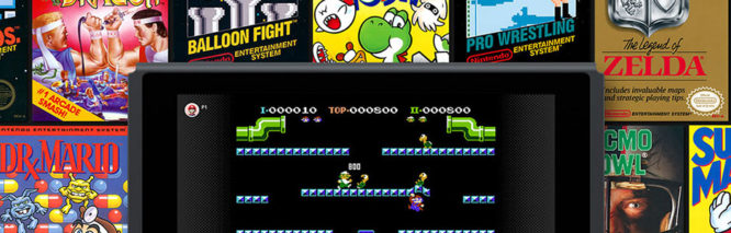 NES Games included in Nintendo Switch Online