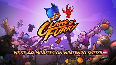 Claws of Furry Nintendo Switch Gameplay - First 20 Minutes (Docked) Video