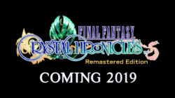 Final Fantasy Crystal Chronicles Remastered Edition Nintendo Switch