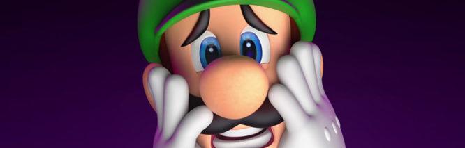 Luigi Horror Face