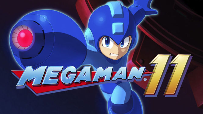 Mega Man 11 Nintendo Switch Demo Artwork