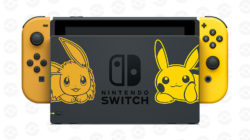 Limited edition pokemon lets go nintendo switch
