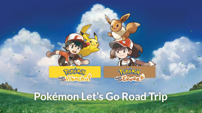 Pokémon Let's Go Road Trip