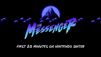 The Messenger Nintendo Switch Gameplay - First 20 minutes (Docked) Video
