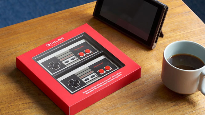 Nintendo Switch NES controllers