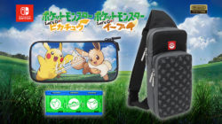 Hori Pokémon: Let's Go Switch Cases accessories