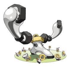 Melmetan Pokemon Artwork