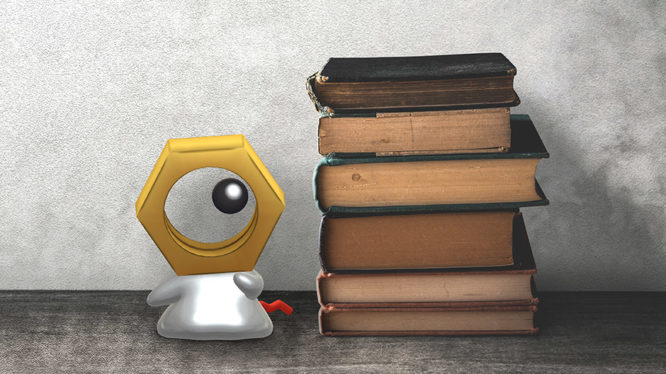 Meltan Pokemon Let's Go Pikachu Eeevee Switch Art
