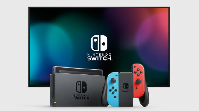 Nintendo Switch console 2019
