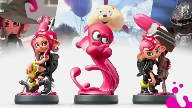 Octoling amiibo gear Splatoon 2