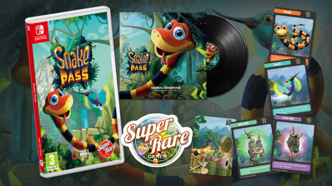 Snake Pass Nintendo Switch Physical Release by Super Rare Games