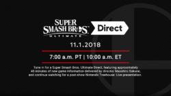 Super Smash Bros. Ultimate Direct November 2018
