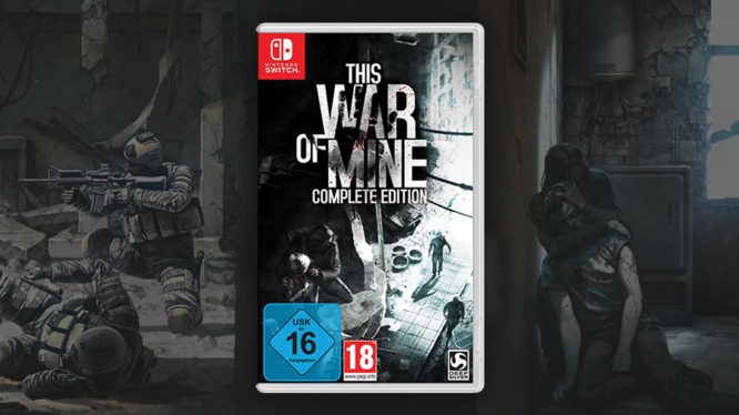 This war of mine physical Nintendo Switch