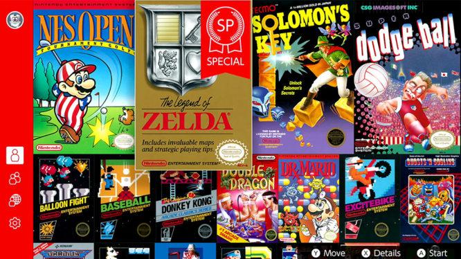 The Legend of Zelda Special NES game Nintendo Switch October