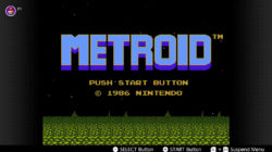 Metroid NES Nintendo Switch Online