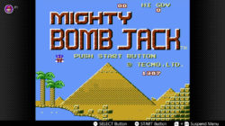 Mighty Bomb Jack NES Switch