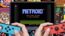 Metroid NES Games Nintendo Switch November 2018