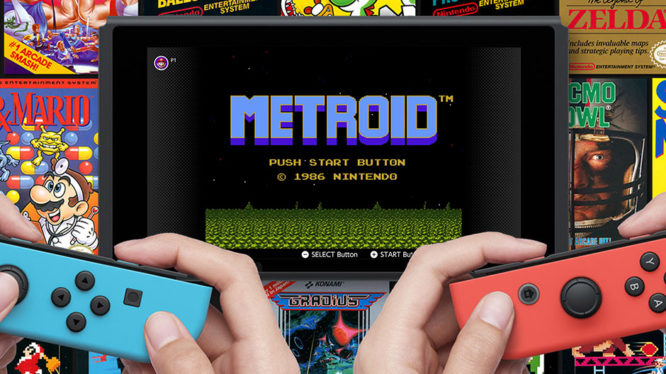 Metroid NES Games Nintendo Switch November 2018