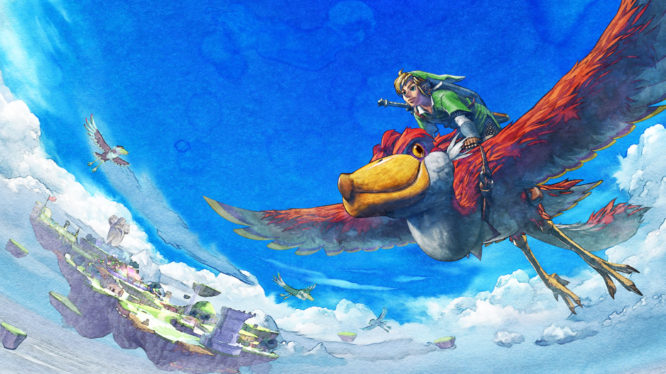 Zelda Skyward Sword Artwork