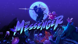 The Messenger Nintendo Switch Review Title Screen