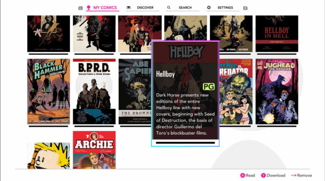 InkyPen Impressions - Is the Switch's first comic book app