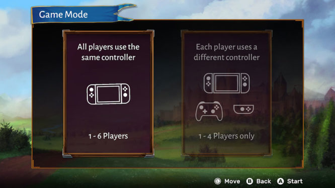 Carcassonne's multiplayer options
