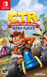Crash Team Racing Switch Box Art