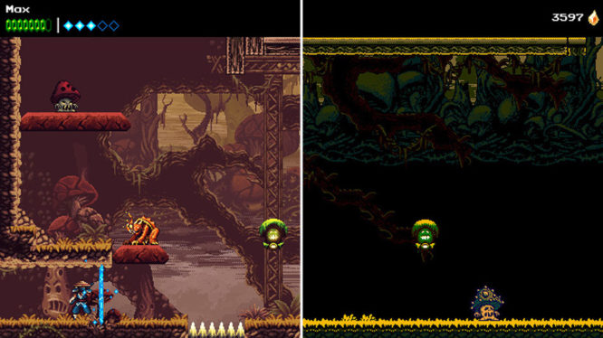 The Messenger Time travel level comparison