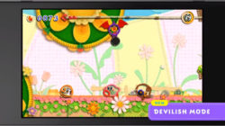 Kirby's Extra Epic Yarn Devilish Mode