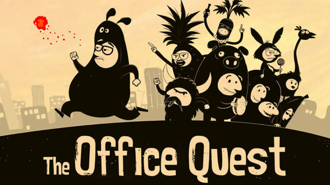 The Office Quest Nintendo Switch Artwork