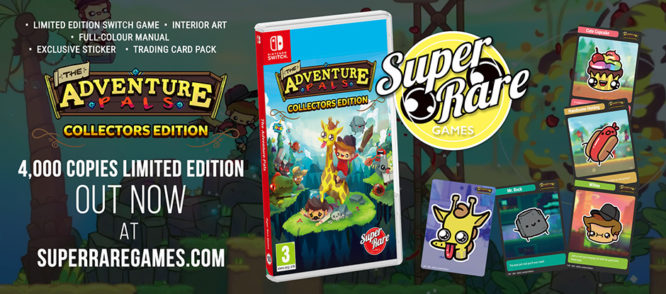 Adventure Pals Nintendo Switch Collectors Edition Limited