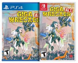 Giga Wrecker Alt Nintendo Switch PS4 Physcial