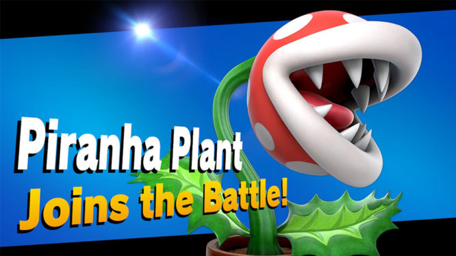 Piranha Plant Joins the Battle!