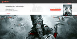 Assassin's Creed III Switch Ubisoft Club