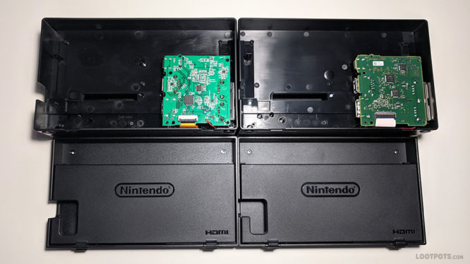 Fake Nintendo Switch Dock Teardown Comparison