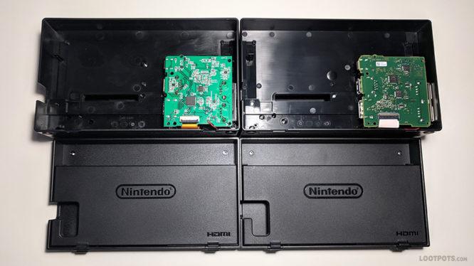 Fake Nintendo Switch Dock Teardown Comparison