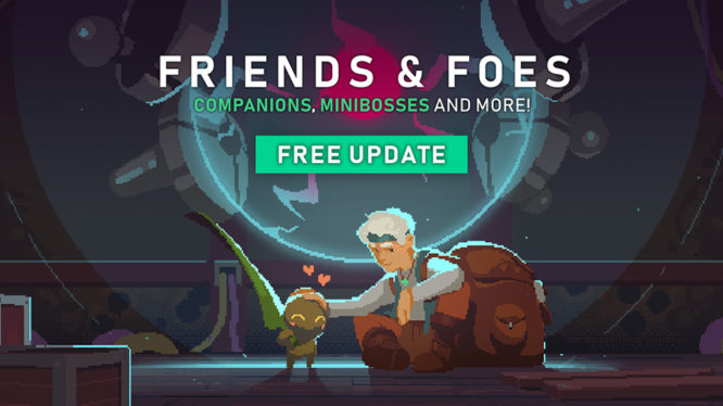 Moonlighter Friends & Foes Update Switch